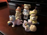 5 1980's Cabbage Patch Figurines Soddy Daisy, 37379