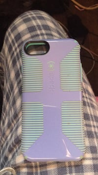 Purple and mint green speck iphone case 180 mi