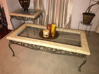 Glass coffee table and 2 table ends Lorton, 22079