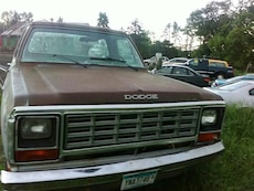 brown Dodge Ram