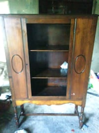 Real old china cabinet missing the glass  LaFayette, 30728