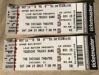 two Ticketmaster Live Nation tickets Burbank, 60459