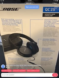 Warning I'm not the seller. I just copy the post from the other seller that selling fake Bose headphone  Hayward, 94544