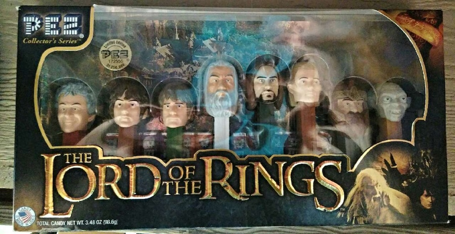 Photo Lord Of The Rings Set , Pez ,Eye Of Sauron,Collect