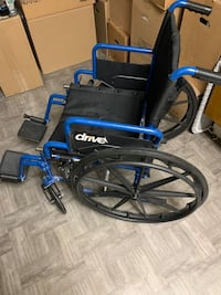 Foldable Wheelchair (Barely used)