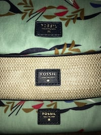 New Fossil Bags (3 piece set)