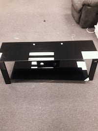 black glass top TV stand with mount Boothwyn, 19061