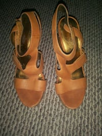 Nine West wedge sandals Sz 7.5 Wilmington, 19801