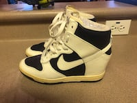 PreOwned Nike Dunk Sky High Imperial Sail LE Sneaker-Wedge Women's 6.5 Royal Kunia, 96797