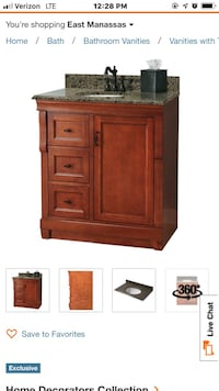 brown wooden cabinet with drawer Dumfries, 22026