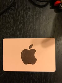 Apple gift card with a balance of $509.00 . Have the receipt and you are welcome to call to verify upon pick up . Jackson, 08527