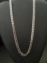Brand New Sterling Silver Curb Chain