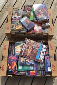 Large Collection of StarTrek books Whitchurch-Stouffville, L4A 3C7
