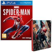 Two sony ps4 marvel spider-man cases Toronto, M6L 1R7