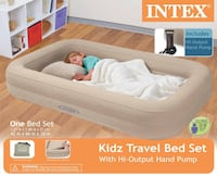 Intex inflatable kids travel bed. Mississauga, L5R