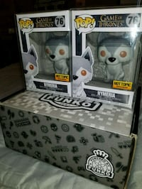 Nymeria exclusive funko pops $50 EACH  Toronto, M1L 2T3