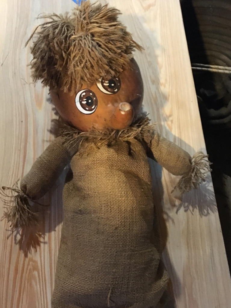 used gourdie doll collector item signed and dated 1983 for sale rh us letgo com