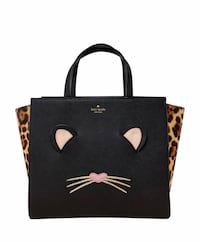 Black and brown leather tote bag  Houston, 77339
