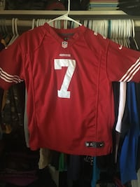 red and white 7 football jersey Fullerton, 92833