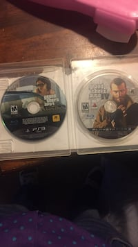 Sony PS3 Grand Theft Auto Five game disc Pittsburg, 94565