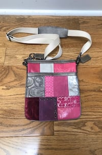 Pink and Silver Coach Crossbody Vaughan, L4J 8K5