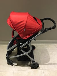 baby's red and black stroller Vaughan, L4L 8H3