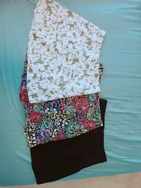 Set of 3 a-line skirts in size 4 Burnaby, V3J 1J7