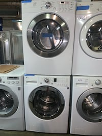 LG front load washer and electric dryer set working perfectly Baltimore, 21223
