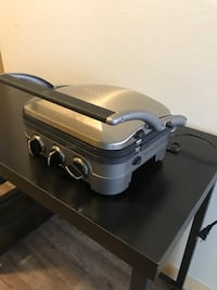 Stainless steel Griddler by Cuisinart Edgewood, 98371