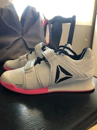 Reebok legacy lifters size 7.5 like new. True to size. Just don't use them