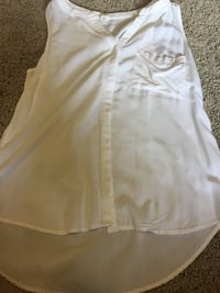 Women's white sleeveless shirt Abbotsford, V2T 7Y3