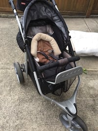 baby's black and gray stroller Vancouver, V5N 5H2