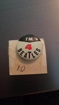 The Beatles Pin Purcellville