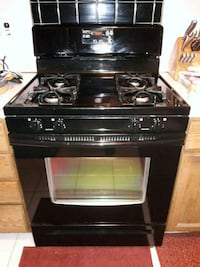 working gas oven