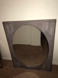 brown wooden framed wall mirror San Angelo, 76904