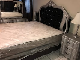 king bedroom set with matress