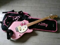 pink and white Hello Kitty electric guitar Palmdale, 93550
