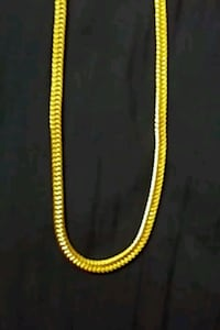 Gold plated necklace Toronto, M1C 1P3