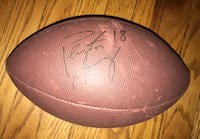 Authentic Peyton Manning signed football!