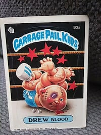Garbage Pail Kids by Drew Blood book 2235 mi