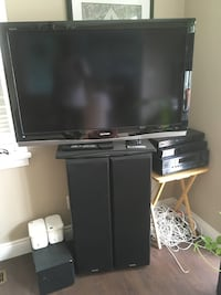 "Home entertainment set and flat screen 46"" St Catharines, L2R 1C1"