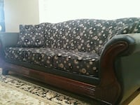 black and brown fabric sofa Surrey, V3S 0X6
