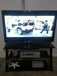 Samsung46flat scree tv with stand Grant Park, 60940