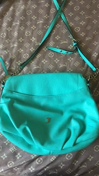 Juicy couture teal leather crossbody bag Toronto, M8Z