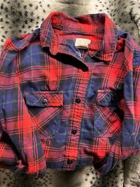 Long sleeve flannel Andrea Jovine size small