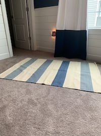 Serena & Lily blue and cream rug  Clarksville, 21029
