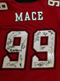 red and white NFL jersey 3135 km