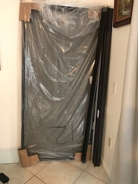 Sliding screen door with frame kit complete Miami, 33179