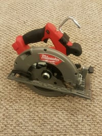 Milwaukee fuel brushless circular saw Richmond, V6X 1C5
