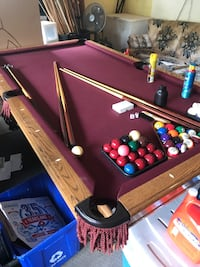 8ft American Heritage Pool Table Langley, V3A 2Z7
